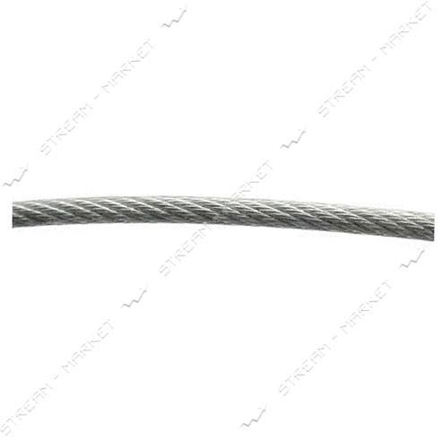 Трос стальной оцинкованный 2.4мм 100м