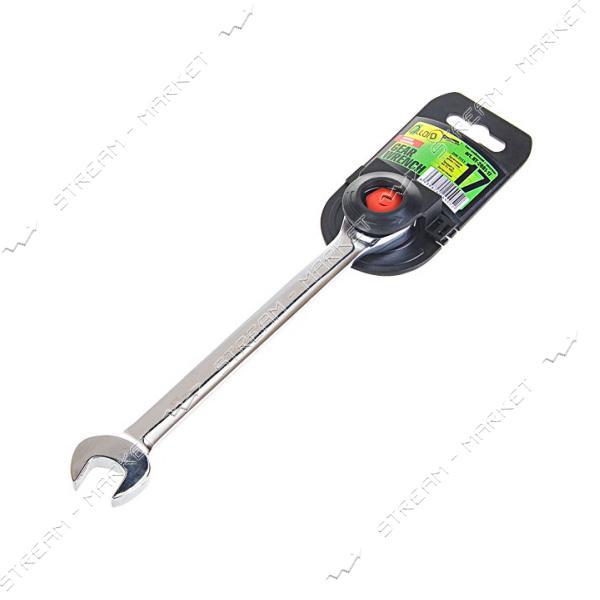 ALLOID (КТ-2081-17) Ключ комбинированный трещоточный 17мм