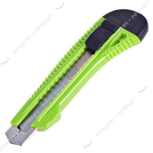 ALLOID (НП-1838) Нож с выдвижным сегментным лезвием усиленный 18мм пластик