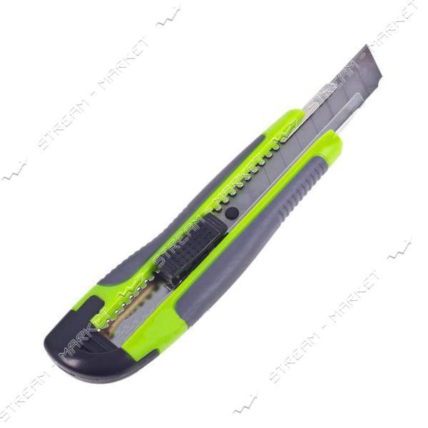 ALLOID (НП-1894) Нож с выдвижным сегментным лезвием 18мм пластик/резина