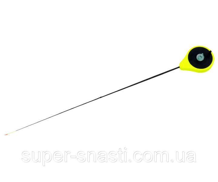 Зимний удильник Flagman Балалайка кивок 0.7-2.8 г желтая