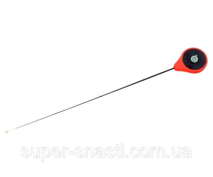 Зимний удильник Flagman Балалайка кивок 0.7-2.8 г красная