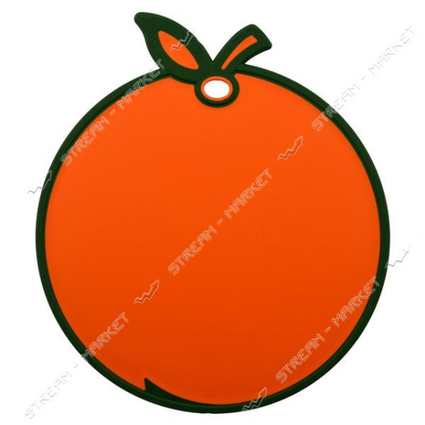 Доска разделочная пластиковая Hobbe Life 'Апельсин', Турция цвета в ассорт.