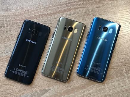 "Samsung Galaxy S8+ 5.8"" 10 Ядер 3G/4G 4Гб/65Гб 8Мп/12Мп Android 7.0"