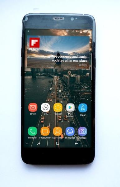 "Samsung Galaxy S9 5,5"" 8 Ядер 4G 2Гб/16Гб+64Гб 8Мп/12Мп Андроид 8.0 Алюминий"