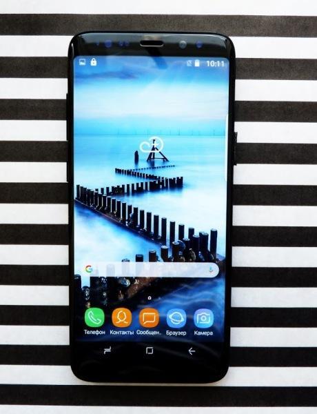 "Samsung Galaxy S9+ 6,2"" 10 Ядер 3Гб/120Гб+256Гб 8Мп/13Мп Android 7.0"