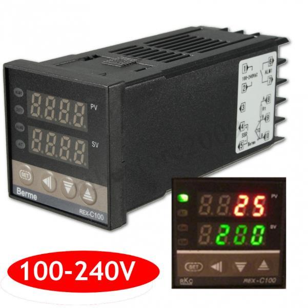 Терморегулятор ПИД PID контроллер REX-C100