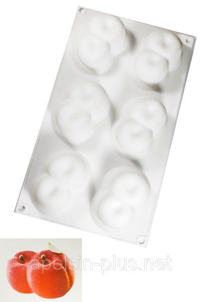 Фото Силиконовые формы для выпечки, Силиконовые формы для евродесертов Силиконовая форма для евро десертов Персики тандем