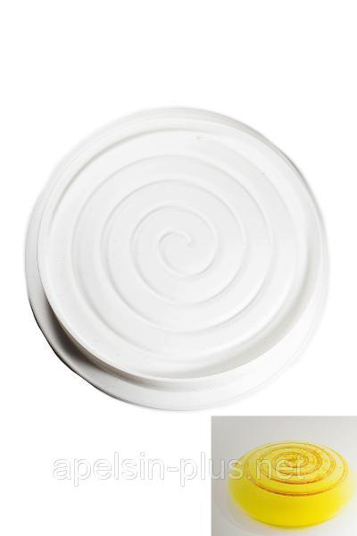 Фото Силиконовые формы для выпечки, Силиконовые формы для евродесертов Силиконовая форма для муссовых тортов Spiral 22 см 6 см