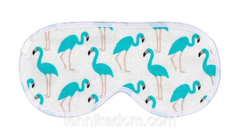 Маска для сна Corylus Фламинго Бирюзовые