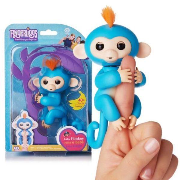 Finger Monkey - интерактивная ручная обезьянка на палец