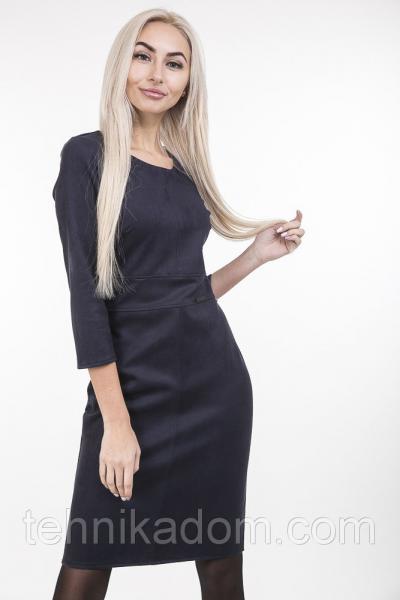 Платье 12550 (темно_темно_синий)