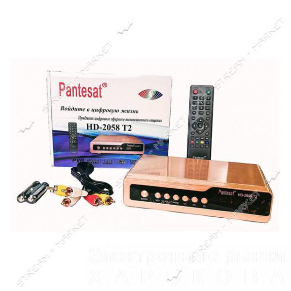 Ресивер Pantesat HD-2058 T2 - Tv-тюнеры и fm-тюнеры на рынке Барабашова