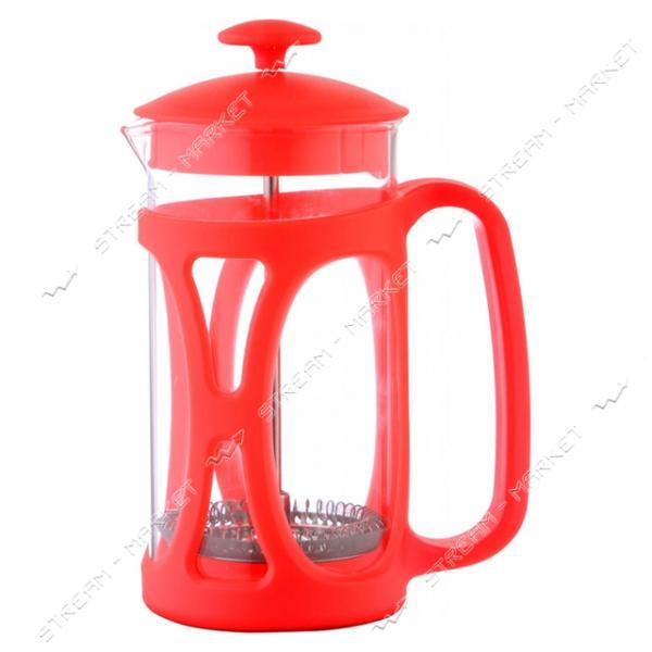 Заварник ConBrio CB-5335 красный 350мл пластик