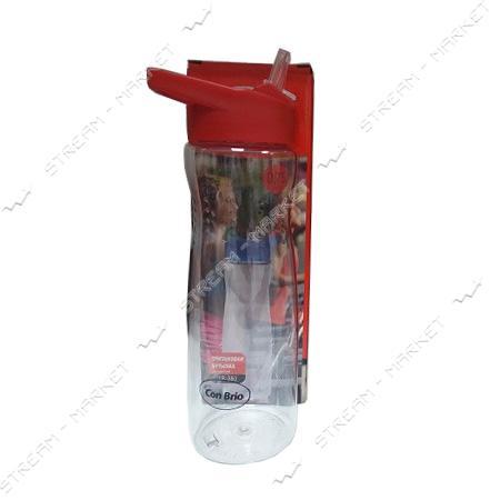 Спортивная бутылка Con Brio СВ-380красн, TRITAN, 750 мл