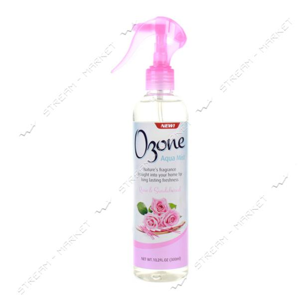 Освежитель воздуха Ozone Aqua Mist Роза и Сандаловое дерево 300 мл