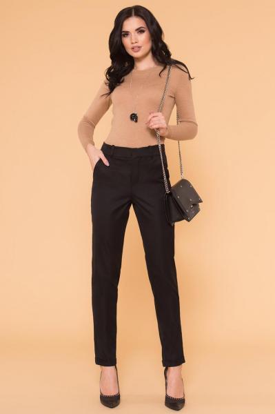 "Женские черные брюки ""Стин"" классика"