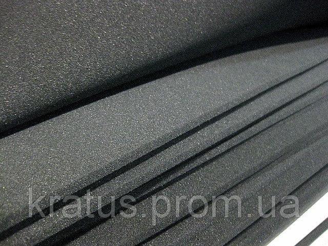 Поролон листовой темно-серый 1х2м  толщина 10мм