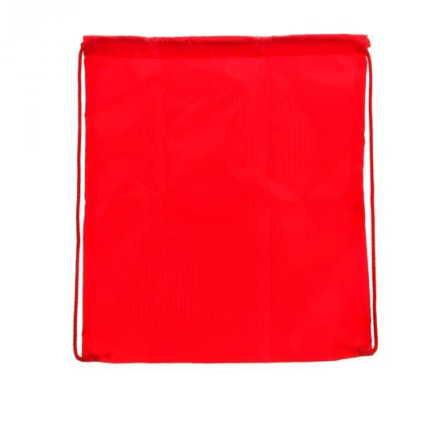 Сумка для сменной обуви универсальная 405х340 мм, красная