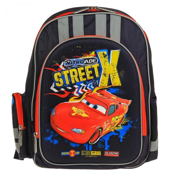 Рюкзак Disney Cars 38*29*13, для мальчика, синий