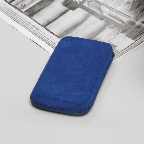 Чехол Time для телефона, с ремешком, размер 1, цвет синий