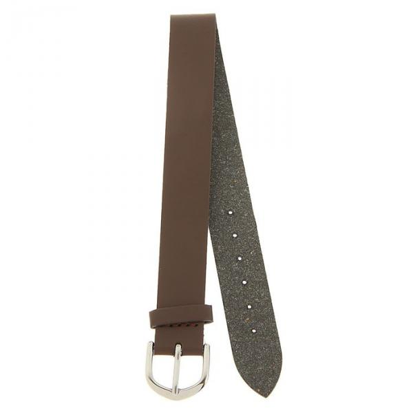 Ремешок для часов, женский, 14 мм, натуральная кожа, коричневый