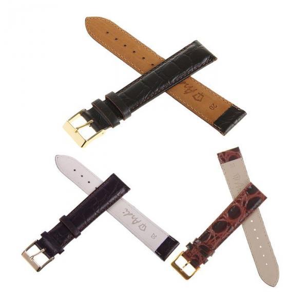 ремешок для часов, мужской, 20 мм, фактура пандора, удлиненный микс