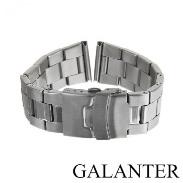 Фото Мелкая кожгалантерея, Ремешки для часов Ремешок для часов 22 мм, металл, серебристый