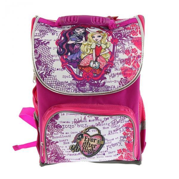 Ранец Mattel Premium Box 37*28*16 см, «Ever After High», фиолетово-белый