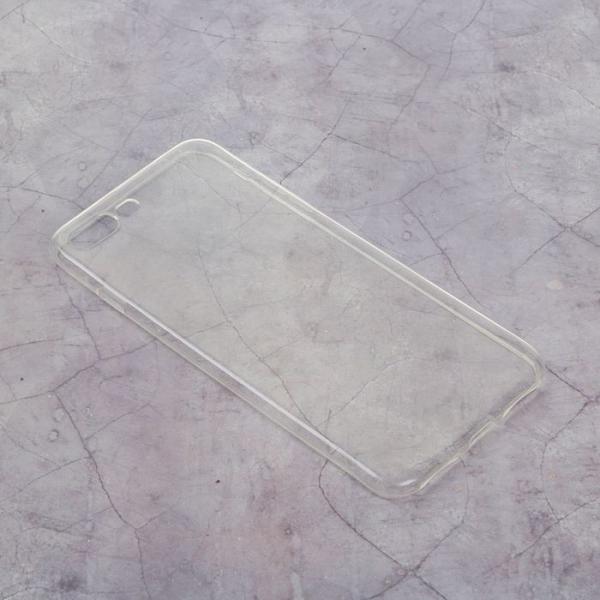 Силиконовый чехол для iPhone 7 plus, тонкий, прозрачный