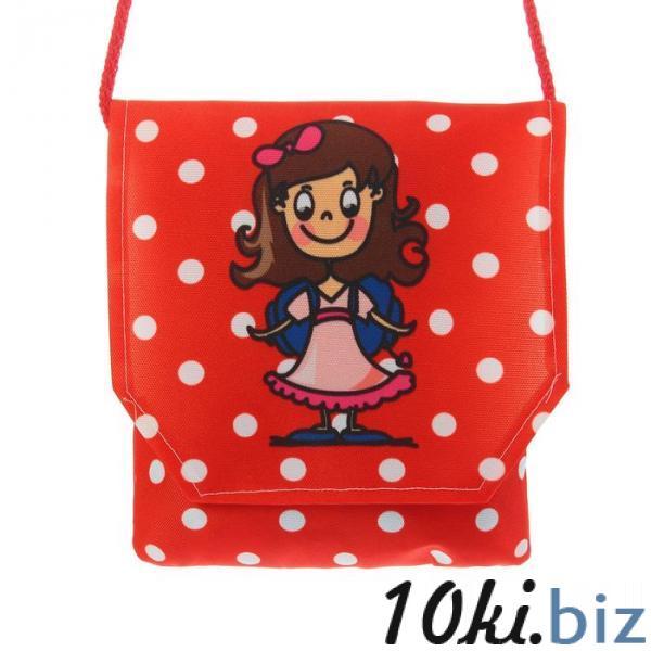 """Сумочка-игрушка """"Девочка 02"""", цвет красный купить в Гродно - Детские сумки, рюкзаки-игрушки"""