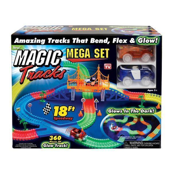 Светящийся гоночный трек MAGIC TRACKS(360 деталей)