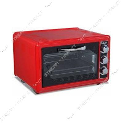 Духовка Asel 1300Вт 33л таймер цвет красный