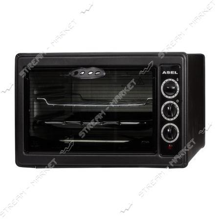 Духовка Asel 1300Вт 40л таймер цвет черный