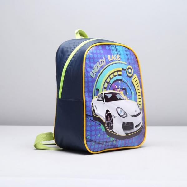 Рюкзак детский, 1 отдел, цвет синий