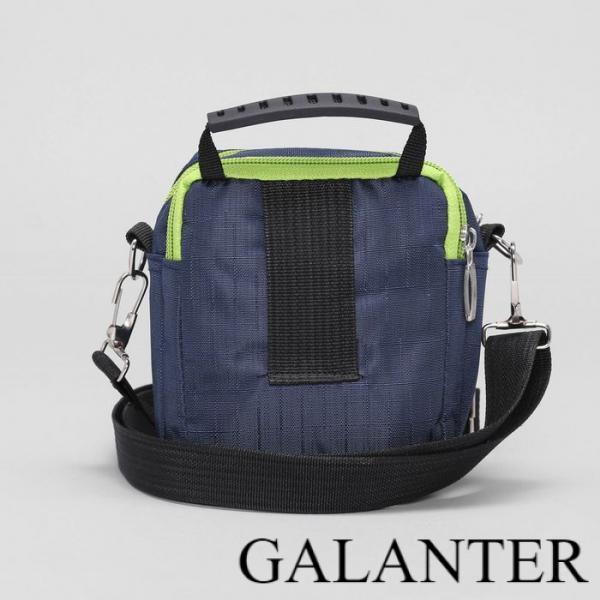 Фото Сумки, Мужские сумки, Поясные сумки Сумка мужская поясная, 2 отдела, 2 наружных кармана, длинный ремень, цвет синий