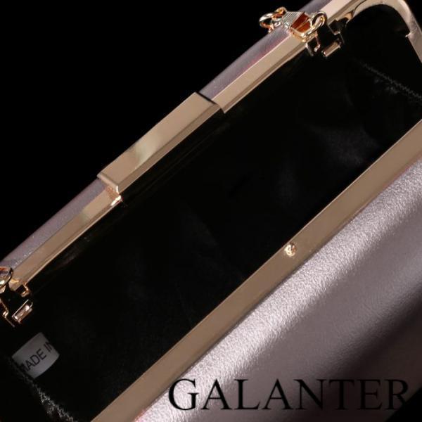 Фото Сумки, Женские сумки, Клатчи Клатч женский, отдел на рамке, длинная цепь, цвет серый перламутр