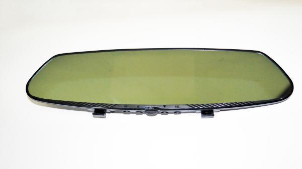 """Регистратор-зеркало T1000 4,3""""+сенсорный экран+камера заднего вида"""