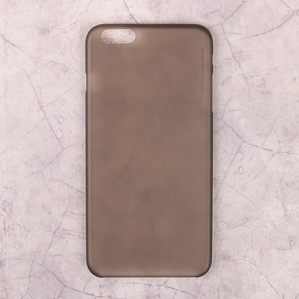 Чехол-крышка DEPPA Sky Case iPhone 6 Plus, 0,4 мм, серый