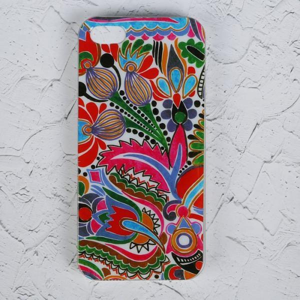 Чехол Luazon для iPhone 5/5S, орнамент MZF-0139