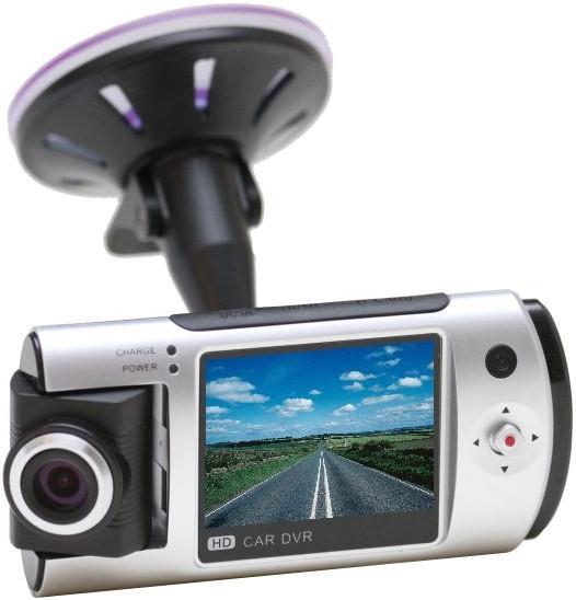 Регистратор R-280 поворотная камера на 180 градусов