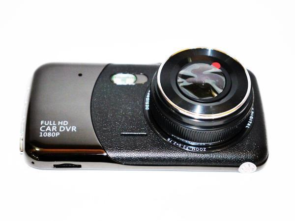 """Регистратор с выносной камерой заднего вида T652 экран 4""""+Full HD-видео"""