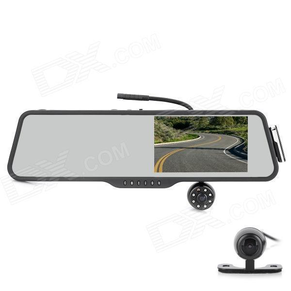Bluetooth зеркало-регистратор S516 + парковочная камера заднего вида