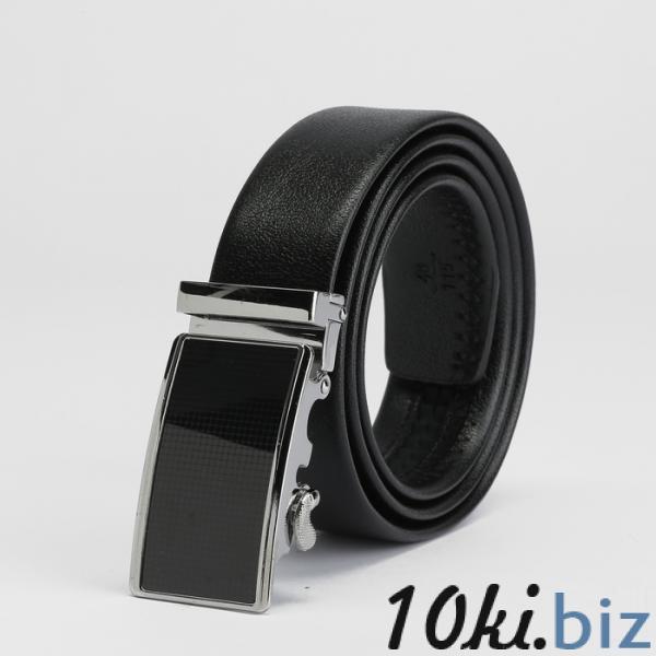 Ремень мужской, пряжка - автомат металл, ширина - 3,5 см, цвет чёрный купить в Гродно - Ремни и пояса