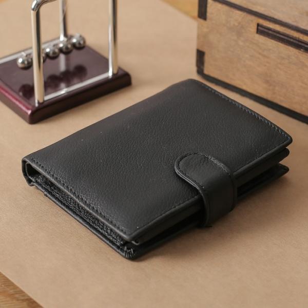 Портмоне мужское 3 в1 (автодокументы + паспорт), 2 отдела, для карт, для монет, цвет кофе