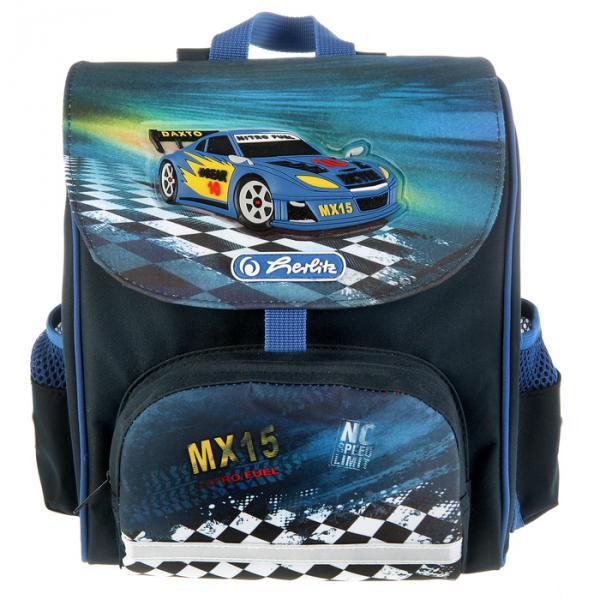 Ранец дошкольный Herlitz MINI Softbag, 24х26х14 см, для мальчиков «Super Race»