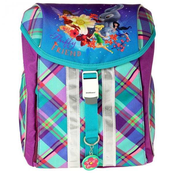 Рюкзак на замке Erich Krause Ergo-Mini Disney 37х28х19см для девочки «Феи и невиданный зверь»
