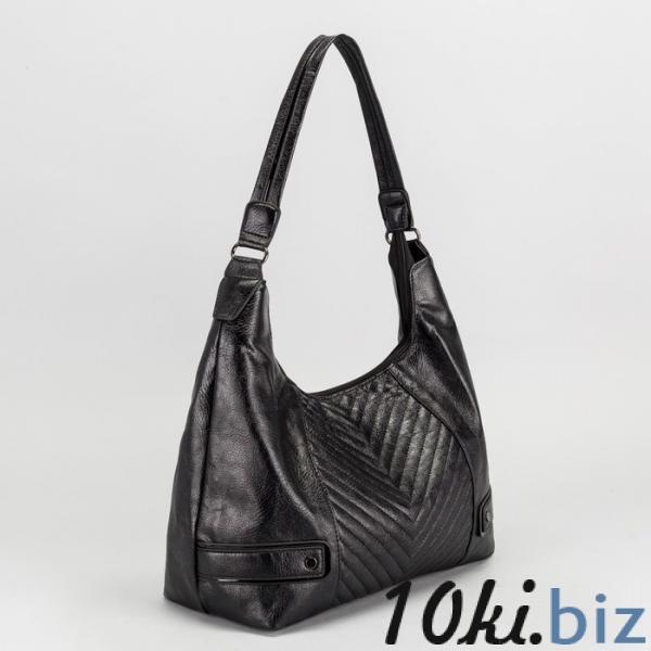 Сумка женская, отдел с перегородкой на молнии, наружный карман, цвет чёрный купить в Беларуси - Женские сумочки и клатчи