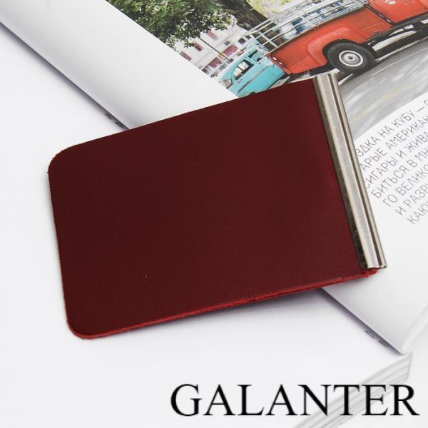 Фото Кошельки, Зажимы для купюр Зажим для купюр, с металл держателем, цвет бордовый