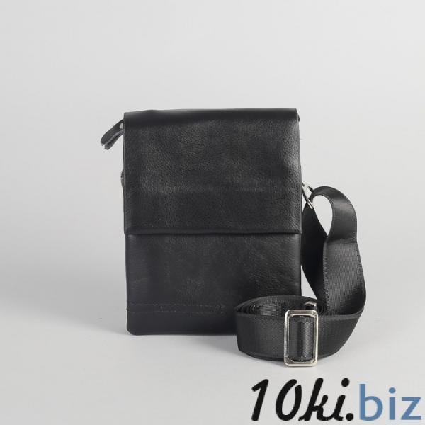 Планшет мужской, 3 отдела на молнии, 2 наружных кармана, длинный ремень, цвет чёрный купить в Гродно - Мужские сумки и барсетки